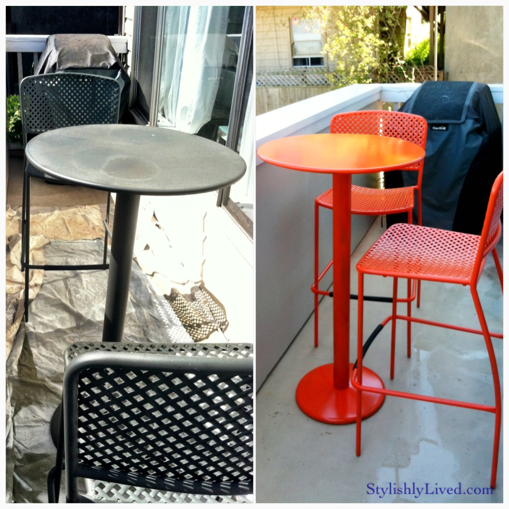 Picture of: Outdoor Bistro Furniture House Made Of Paper