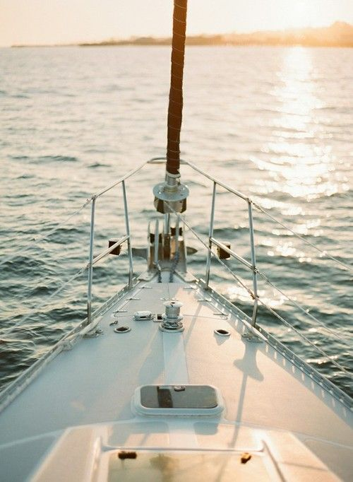dreaming of sailing and summer