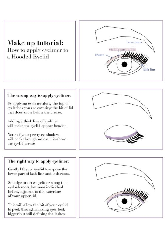 How to: tightline hooded eyes