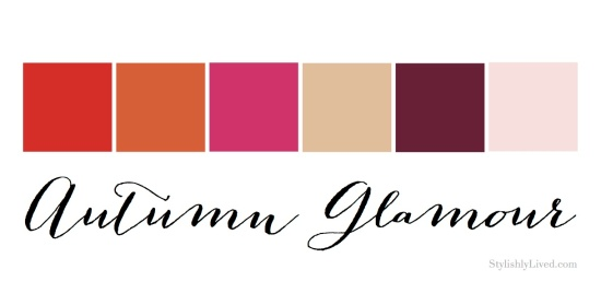 Autumn Glamour Color Palatte - Stylishly Lived