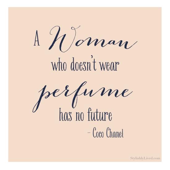 coco chanel perfume quote