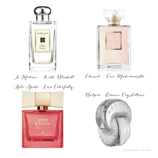 Perfume favorites - Stylishly Lived