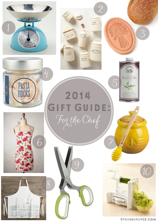 2014 Gift Guide - for the Chef copy