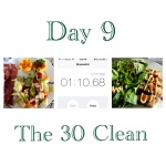 The 30 Clean: Day Nine