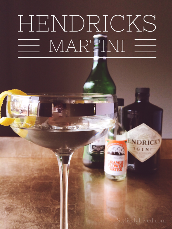 How to make a Hendrick's Martini