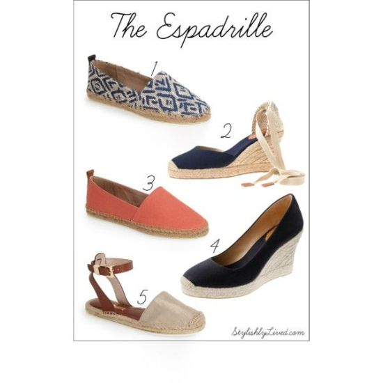 Nina Garcia's The One Hundred: Espadrilles